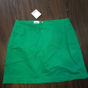 GREEN URBAN OUTFITTERS SKIRT